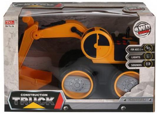 Машина инерц. на бат., экскаватор, свет+звук 6655-8 в кор. в кор.2*8шт кассовый аппарат на бат свет звук с аксесс в ассорт в русс кор в кор 2 8шт