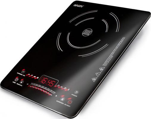 Плитка индукционная GINZZU HCI-161 черная, 2000Вт., сенсорное управление, 1 конфорка плитка индукционная ginzzu hci 161 черная 2000вт сенсорное управление 1 конфорка