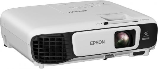 Проектор EPSON EB-U42 (V11H846040) 3P-Si TFT / 1920 x 1200 / 16:10 / 3600 Lm / 15000:1 1000ml lm edible ink suit for epson
