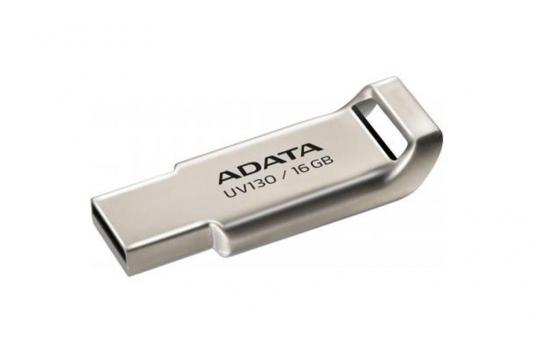 Внешний накопитель 16GB USB Drive ADATA USB 2.0 UV130 золотой мет. AUV130-16G-RGD adata uc510 usb 2 0 flash drive grey 16gb
