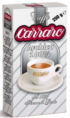 Кофе молотый Carraro Arabica 100% 250 грамм