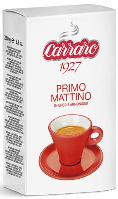 Картинка для Кофе молотый Carraro Primo Mattino 250 грамм