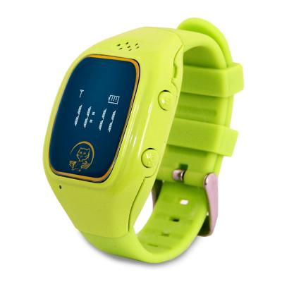 Умные часы детские GiNZZU GZ-511 green, 0.66, micro-SIM, GPS/LBS/WiFi-геолокация, датчик снятия с руки ginzzu gz 511 pink