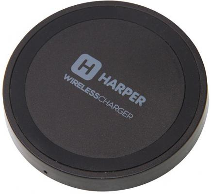 Беспроводное зарядное устройство Harper QCH-2070 microUSB 0.7 А черный harper qi беспроводное зарядное устройство для смартфона harper qch 2070 black