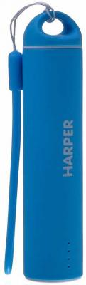 все цены на Внешний аккумулятор HARPER PB-2602 Blue
