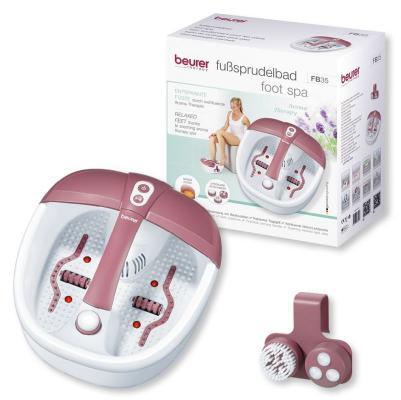 Гидромассажная ванночка для ног Beurer FB35 140Вт белый гидромассажная ванночка для ног smile wfm 3006