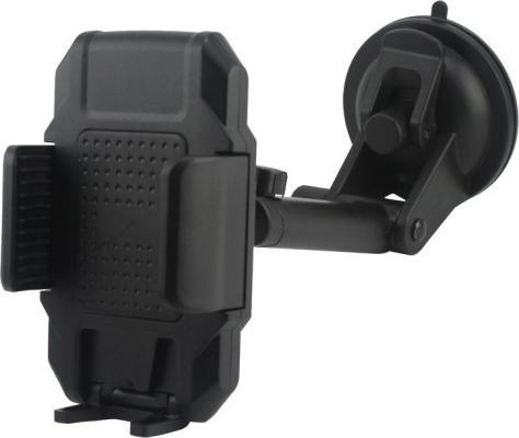 Держатель Wiiix HT-28T3 черный для смартфонов держатель wiiix ht 61v9mg магнитный черный для смартфонов