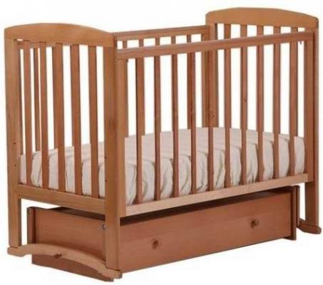 Кроватка с маятником Лель Ромашка АБ16 (натуральный бук) лонгслив мужской quiksilver alwaystherels цвет синий eqywr03143 bte0 размер m 46 48