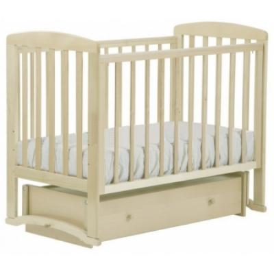 Кроватка с маятником Лель Ромашка АБ16 (слоновая кость) кроватка с маятником sweet baby eligio avorio слоновая кость
