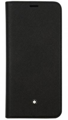 Чехол (флип-кейс) Samsung для Samsung Galaxy S9+ Montblanc Sartorial черный (GP-G965MBCFAAA)