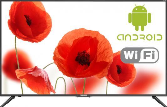 Телевизор Telefunken TF-LED55S60T2SU черный цена и фото
