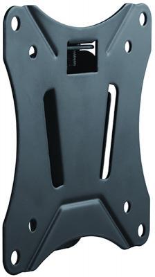 Кронштейн для телевизора Ultramounts UM 810F черный 13-27 макс.25кг настенный фиксированный