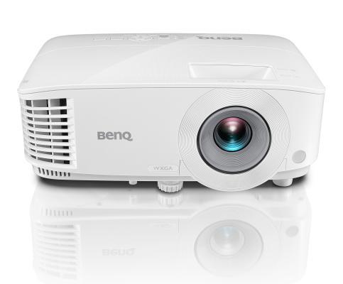 Фото - Проектор BenQ MW550 DLP, 1280x800, 3600 AL, 20000:1, 16:10, 1.1X, TR 1.55~1.7, HDMIx2, VGA, White, 2.3 kg проектор