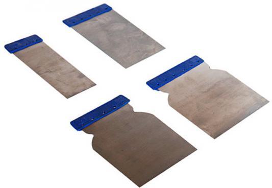 Набор шпателей SANTOOL 020604-400 пластик 4шт. 60-80-100-120мм набор santool 034002 универсальный 25 предметов