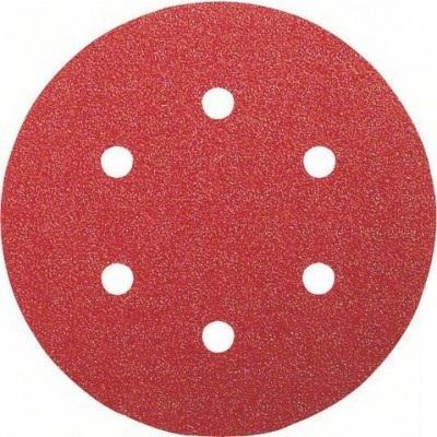 Лист шлифовальный BOSCH 2608607840 50шт. 150мм K320 B.f.Wood