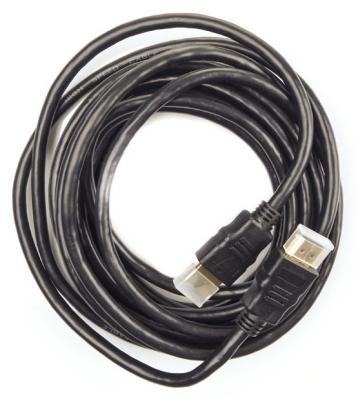 Кабель HDMI 5м Harper CHM-250 круглый черный кабель hdmi 1м harper olto chm 210 круглый черный