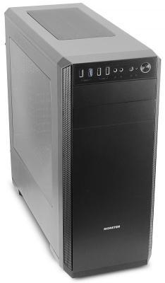 Корпус 3Cott MONSTER II , ATX, без БП, игровой, 1x USB 3.0, 2x USB 2.0, окно, (Г)455 * (Ш) 205 * (В) 482 мм, 0.7 мм