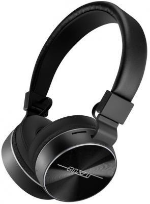 Наушники беспроводные GiNZZU GM-371BT, черные, наушники/гарнитура Bluetooth для сотовых телефонов htc и bluetooth беспроводная гарнитура наушники наушники hm5800