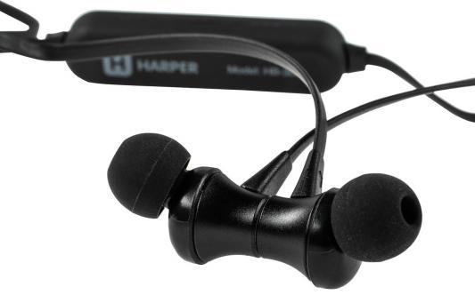 Фото - Беспроводная гарнитура HARPER HB-305 black беспроводная bluetooth колонка edifier m33bt