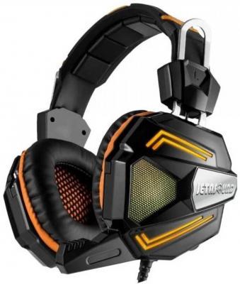 Игровая гарнитура проводная Jet.A GHP-300 Pro черный оранжевый цена
