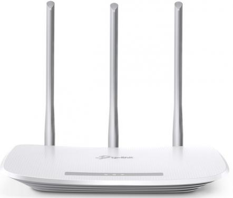Беспроводной маршрутизатор TP-LINK TL-WR845N 802.11bgn 300Mbps 2.4 ГГц 4xLAN LAN белый tp link tl wr847n 300m беспроводной маршрутизатор