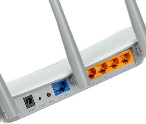 Беспроводной маршрутизатор TP-LINK TL-WR845N 802.11bgn 300Mbps 2.4 ГГц 4xLAN LAN белый беспроводной маршрутизатор tp link tl wr841n 802 11n 300mbps 2 4ггц 20dbm 4xlan