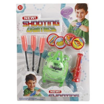 Купить Игровой набор Shantou Стрелялка с дисками 9 предметов, для мальчика, Игровые наборы для мальчиков