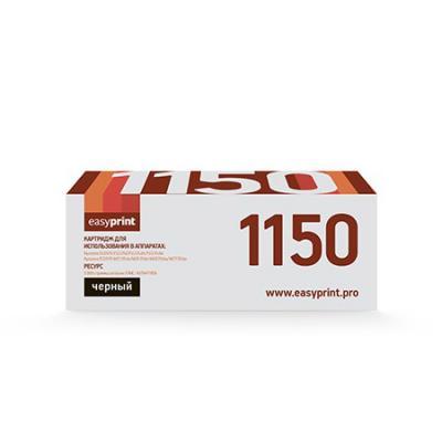 Фото - Картридж EasyPrint LK-1150 черный (black) 3000 стр. для Kyocera ECOSYS M2135/2635/2735 / P2235 картридж easyprint lk 895k черный для лазерного принтера