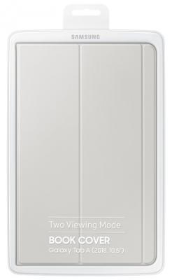 Чехол Samsung для Samsung Galaxy Tab A 10.5 Book Cover полиуретан/поликарбонат серый (EF-BT590PJEGRU) внешний аккумулятор samsung eb pn930csrgru 10200mah серый