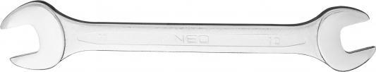 Ключ рожковый NEO 09-810 (10 / 11 мм) с открытым зевом клещи neo 200 мм 01 150