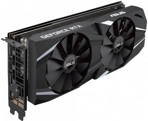 все цены на Видеокарта ASUS nVidia GeForce RTX 2070 GeForce RTX 2070 DUAL PCI-E 8192Mb GDDR6 256 Bit Retail (DUAL-RTX2070-O8G) онлайн