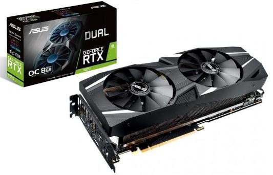 Видеокарта ASUS nVidia GeForce RTX 2070 GeForce RTX 2070 DUAL Advanced PCI-E 8192Mb GDDR6 256 Bit Retail (DUAL-RTX2070-A8G)