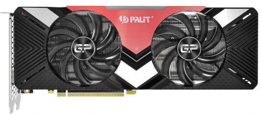 Видеокарта Palit nVidia GeForce RTX 2070 Dual PCI-E 8192Mb GDDR6 256 Bit Retail (PA-RTX2070 Dual 8G) NE62070020P2-1060A цена и фото