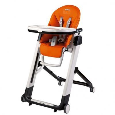Стульчик для кормления Peg-Perego Siesta Follow Me (аrancia) стульчики для кормления peg perego siesta