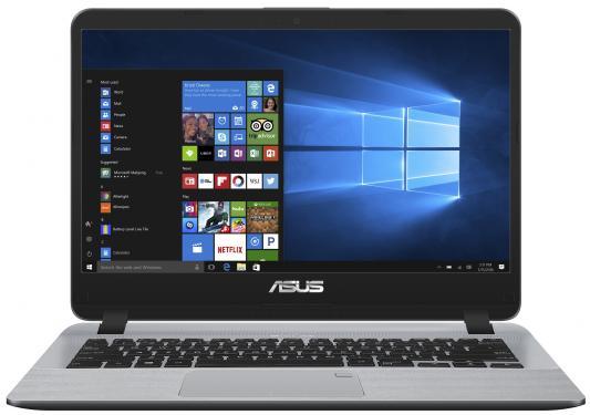Ноутбук ASUS X407UA-EB205T (90NB0HP1-M04400) ноутбук asus x555ln x0184d 90nb0642 m02990