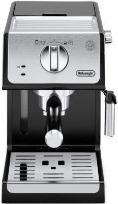 Кофеварка эспрессо Delonghi ECP33.21.BK 1100Вт черный кофеварка delonghi en 500 коричневый