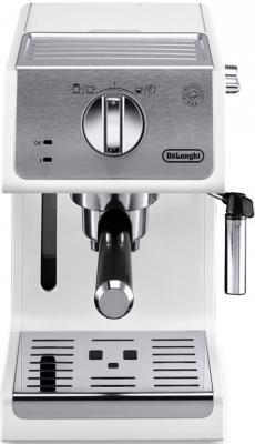 Кофеварка эспрессо Delonghi ECP33.21.W 1100Вт белый кофеварка delonghi icm 2 1b