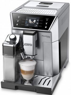 Кофемашина Delonghi ECAM550.75.MS 1450Вт серебристый delonghi nespresso pixie clips en 126 капсульная кофемашина