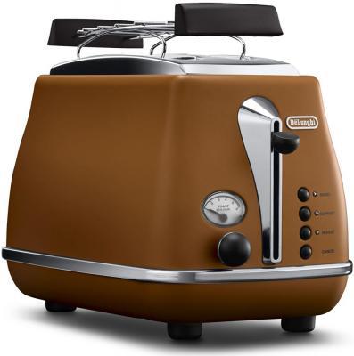Тостер Delonghi CTOV2103.BW 900Вт коричневый