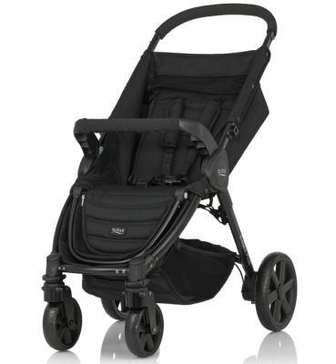 Купить Коляска прогулочная Britax B-Agile 4 Plus (cosmos black), черный, Прогулочные коляски