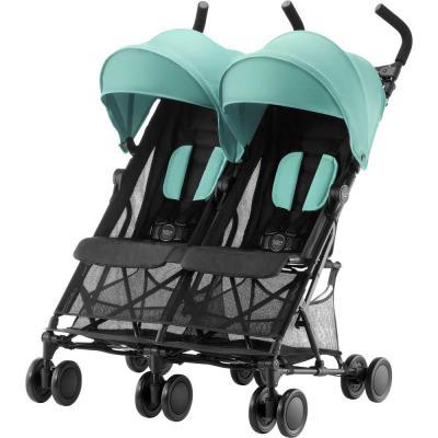 Прогулочная коляска для двоих детей Britax Holiday Double (aqua green)
