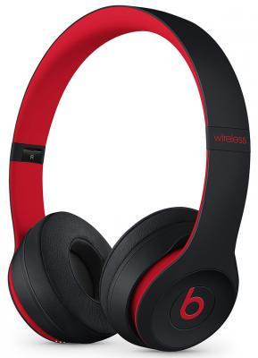 лучшая цена Гарнитура Apple Beats Solo3 Decade Collection черный красный MRQC2EE/A