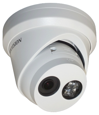 Камера IP Hikvision DS-2CD2323G0-I CMOS 1/2.8 6 мм 1920 x 1080 Н.265 H.264 RJ45 10M/100M Ethernet PoE белый hikvision security camera system 2mp bullet ip camera outdoor 1080p 8pcs ds 2cd2020f i poe ip67 with 8ch poe nvr ds 7608ni e2 8p