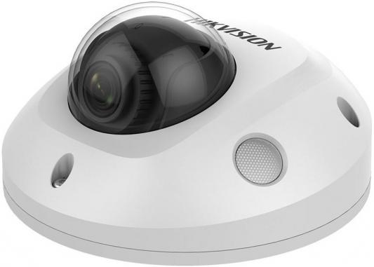 Камера IP Hikvision DS-2CD2563G0-IS (4 MM) CMOS 1/2.9 4 мм 3072 х 2048 Н.265 H.265+ RJ45 10M/100M Ethernet PoE белый free shipping english version ds 2cd2125fwd is 2mp ultra low light network dome camera poe cctv camera audio sd card h 265
