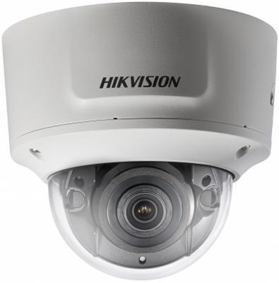 Камера IP Hikvision DS-2CD2763G0-IZS CMOS 1/2.9 3072 х 2048 H.265+ Н.265 H.264+ H.264 RJ45 10M/100M Ethernet PoE белый yiispo 4ch h 265 poe nvr play and plug 48v 802 3af 4k 5 0mp 1080p cctv nvr video security remote view surveillance onvif p2p