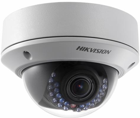 все цены на Видеокамера IP Hikvision DS-2CD3742FWDN-IZS/B 2.8-12мм цветная корп.:белый онлайн