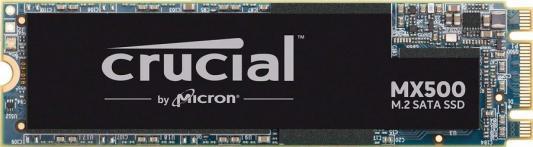 Накопитель SSD M.2 1 Tb Crucial CT1000MX500SSD4N Read 560Mb/s Write 510Mb/s 3D NAND TLC твердотельный накопитель ssd 2 5 1tb samsung 860 pro read 560mb s write 530mb s sata iii mz 76p1t0bw