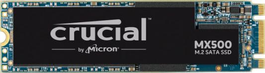 Твердотельный накопитель SSD M.2 500 Gb Crucial MX500 Read 560Mb/s Write 510Mb/s 3D NAND TLC