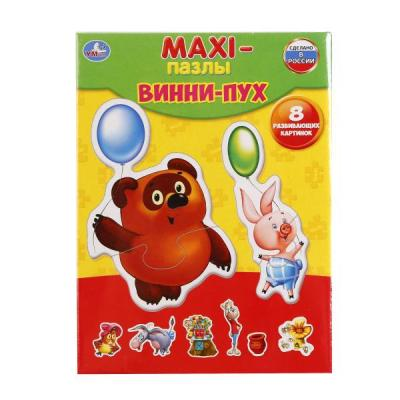 Купить Пазл УМКА ВИННИ-ПУХ 4690590118108, Пазлы для малышей