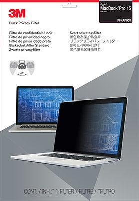 Пленка защиты информации для ноутбука 3M PFNAP008 (7100115703) черный
